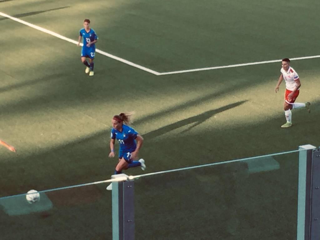 Gloria Marinelli debutto Nazionale Malta