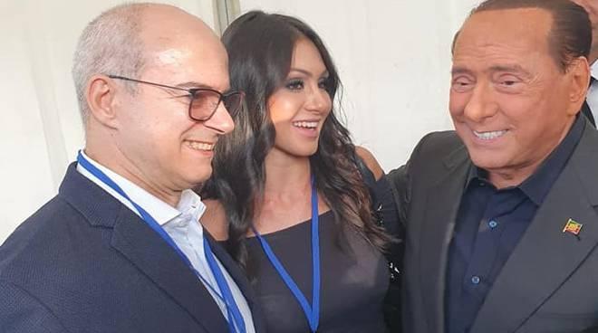 Forza Italia a Roma Tartaglione Toma Berlusconi