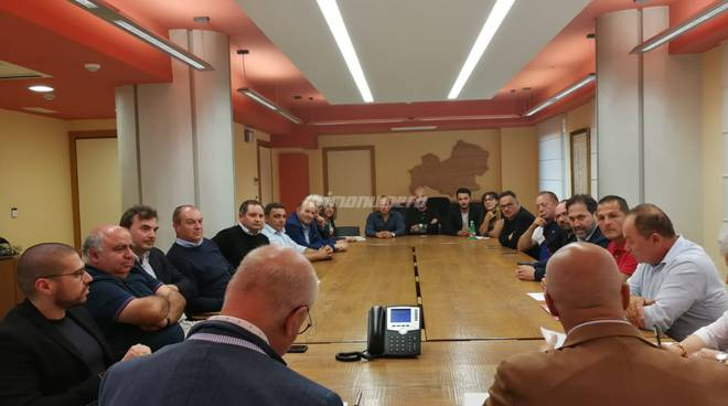 sindaci Basso Molise terremoto 2018