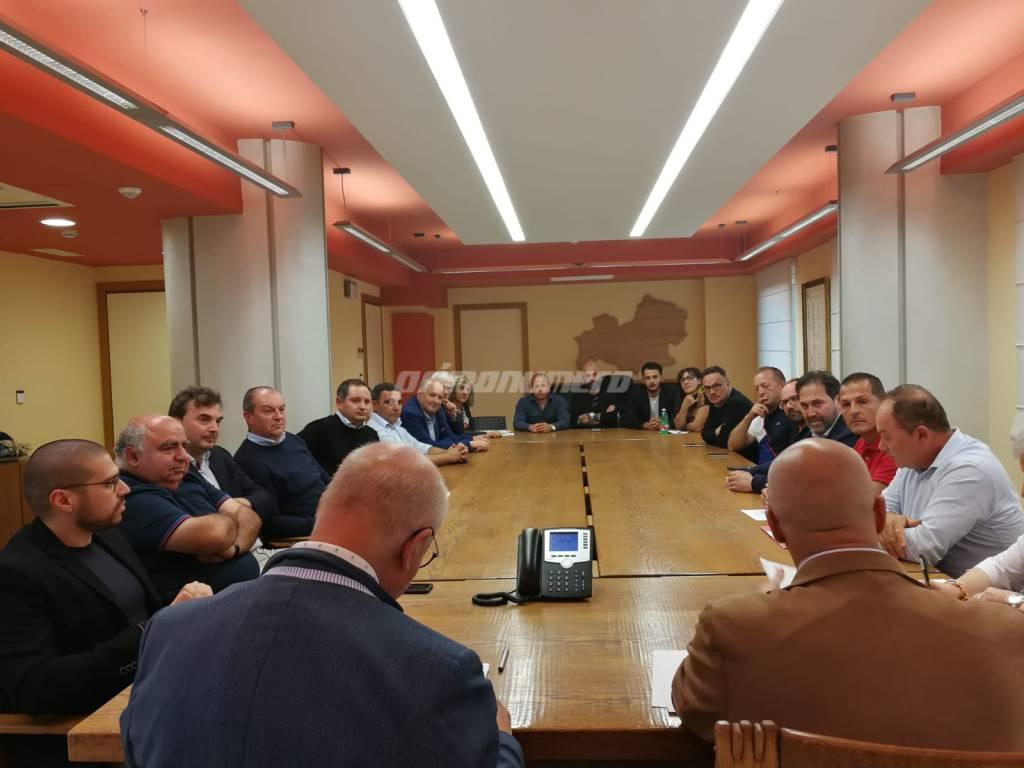 sindaci Basso Molise ricostruzioneterremoto 2018