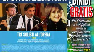 3 solisti all'opera trio