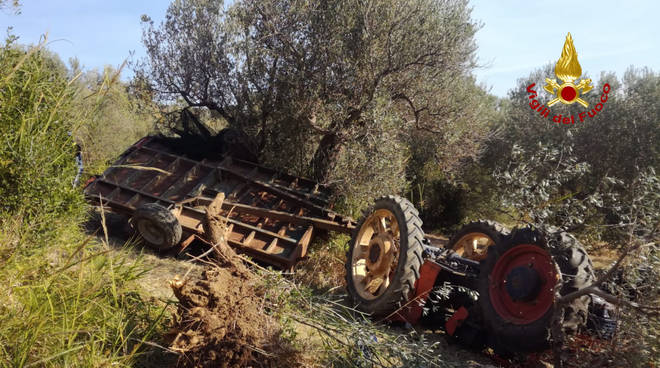 incidente trattore guglionesi