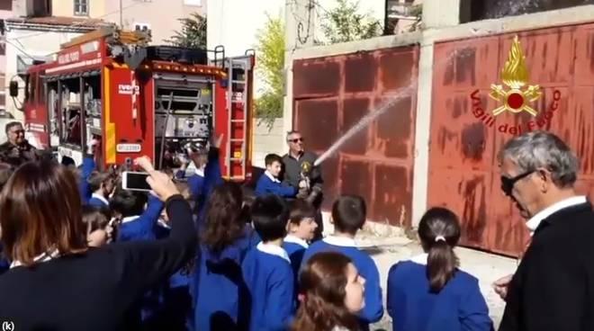 vigili del fuoco Pietracatella