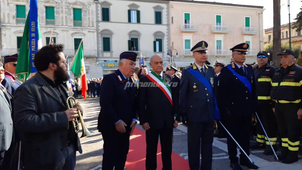 4 novembre forze armate piazza Monumento cerimonia