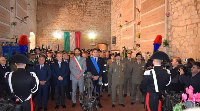 sacrario militare castello Monforte