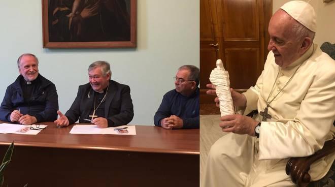 don benito vescovo de luca e papa