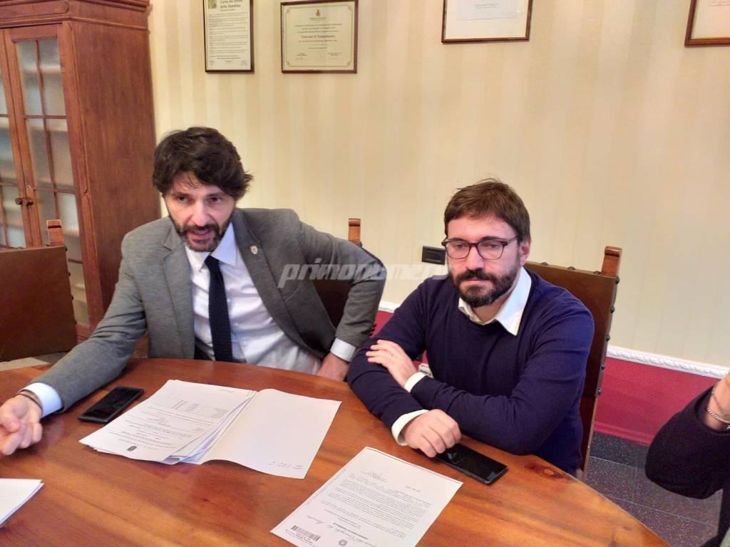 Gravina e Federico Campobasso M5S