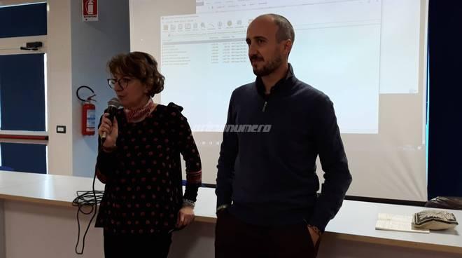 Fabio del sordo e Anna Gloria Carlini