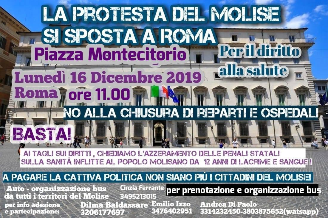 protesta sanità roma