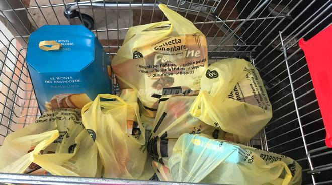 poveri banco alimentare Campobasso supermercato