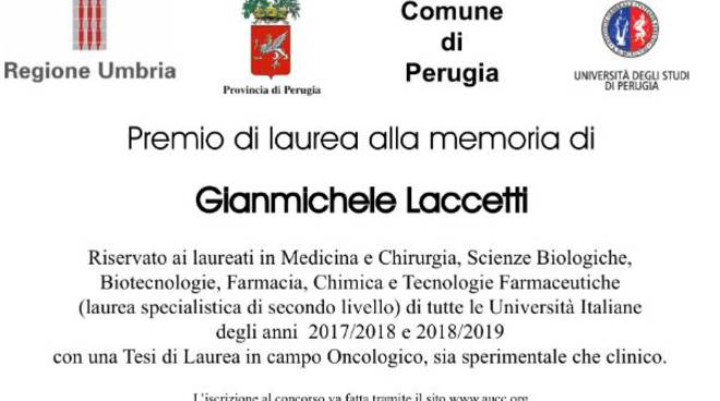 premio laccetti 2019