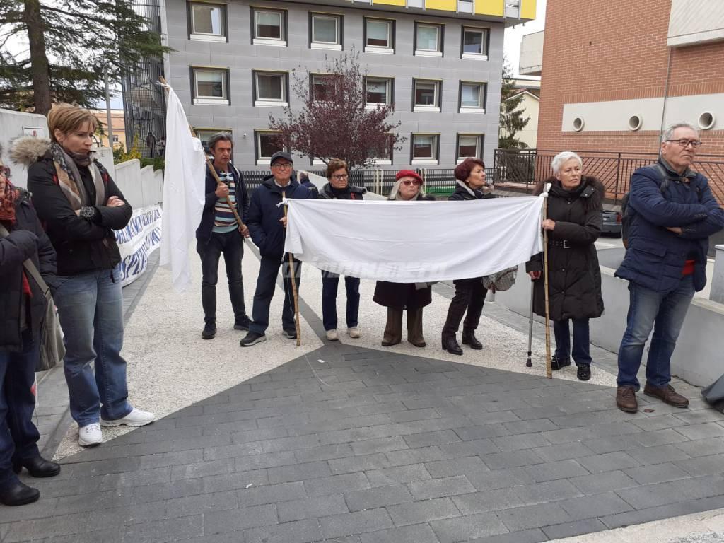 Protesta per la sanità pubblica