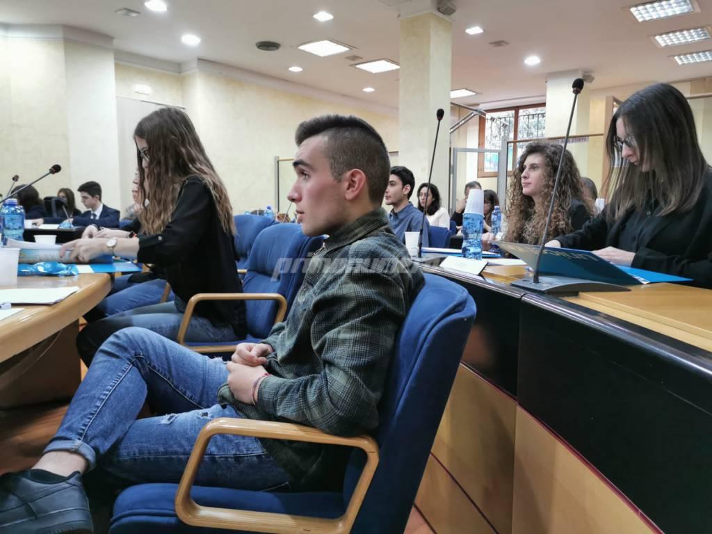 Scuola Pertini in Consiglio regionale