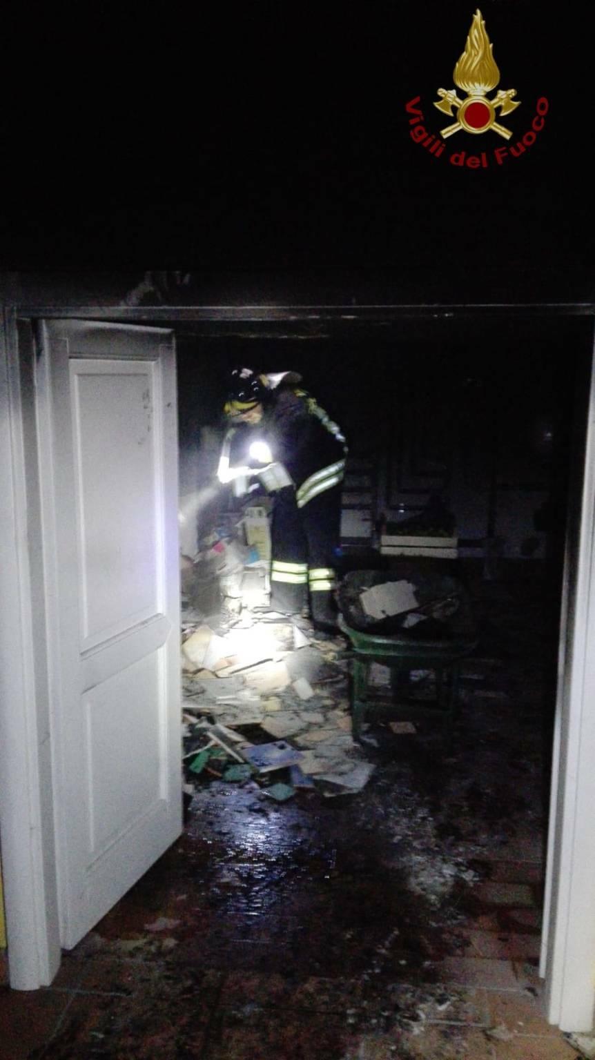 capracotta incendio abitazione