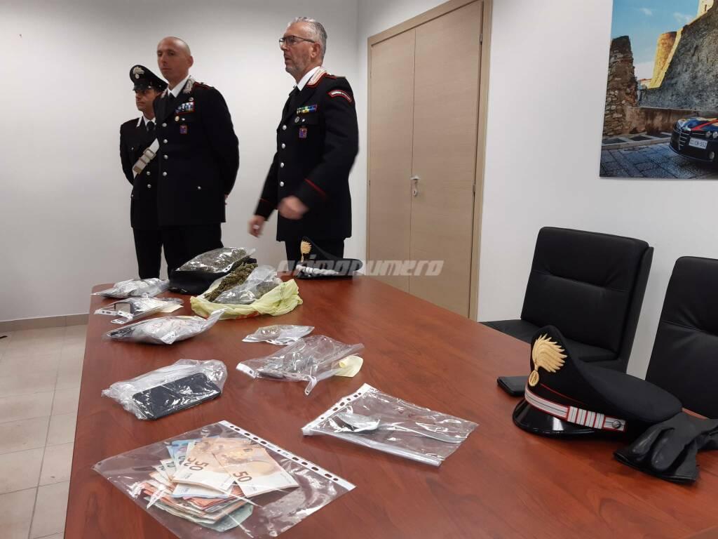 Carabinieri conferenza droga