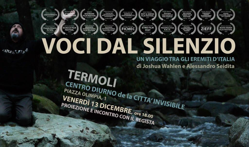 VOCI DAL SILENZIO, un viaggio tra gli eremiti d\'Italia