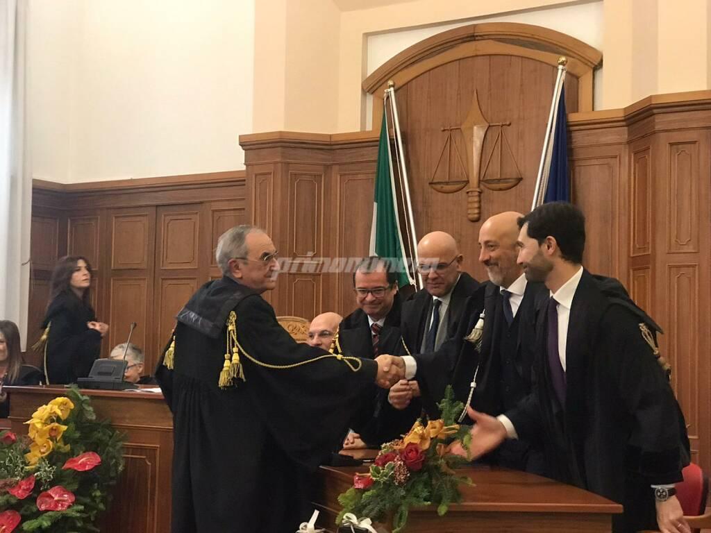 Cerimonia in Tribunale