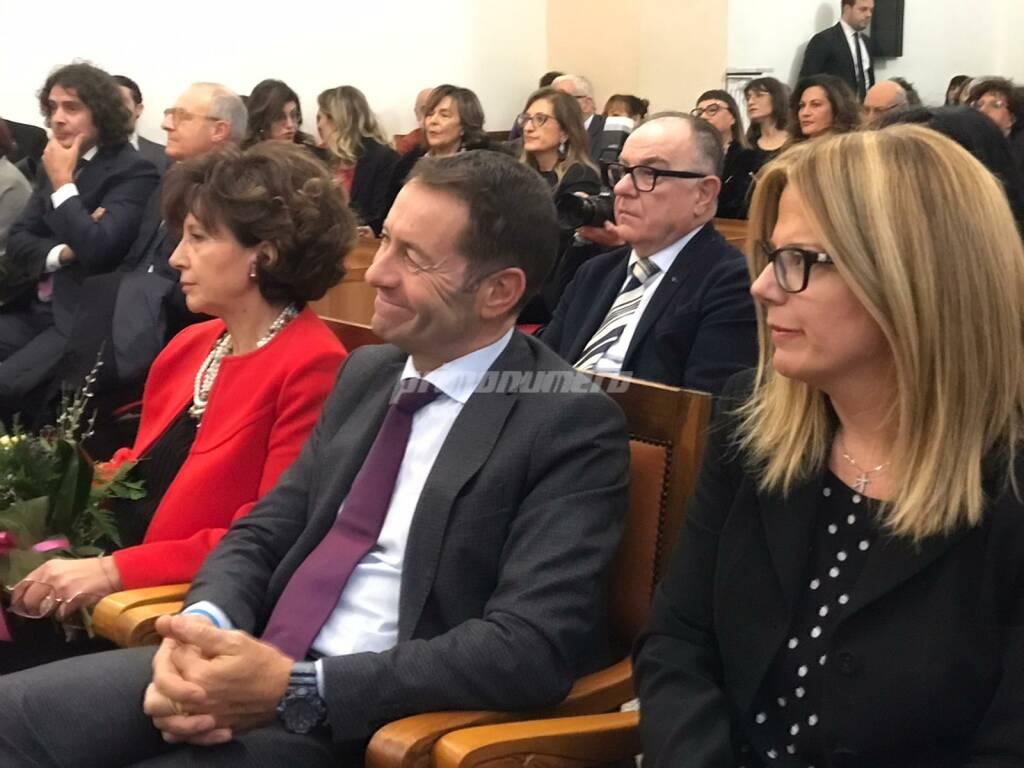 Cerimonia in Tribunale Campobasso Nicola d'Angelo