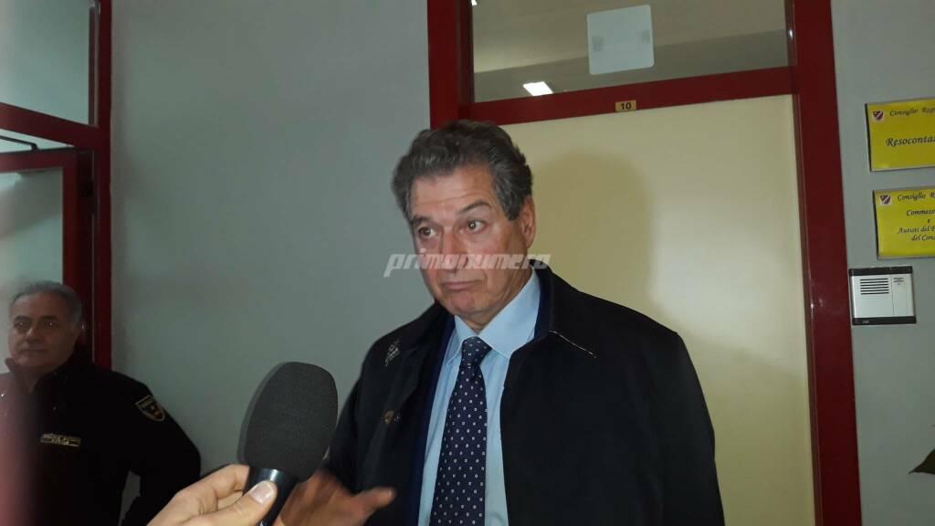 Angelo Giustini Commissari in Consiglio regionale