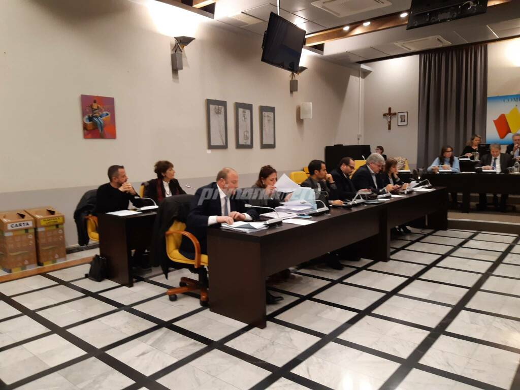 Consiglio comunale Termoli 9 dicembre 19