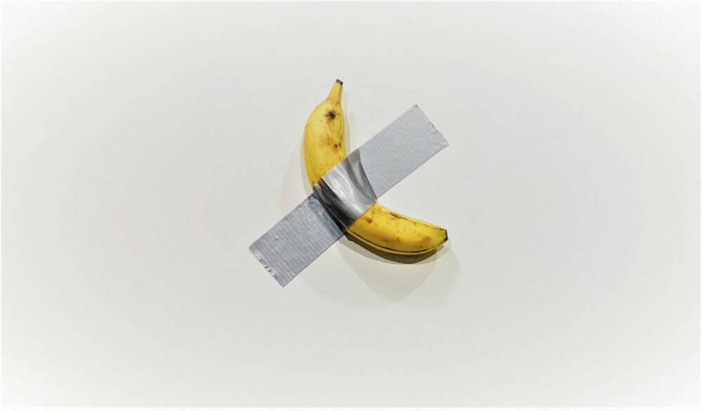 banana cattelan