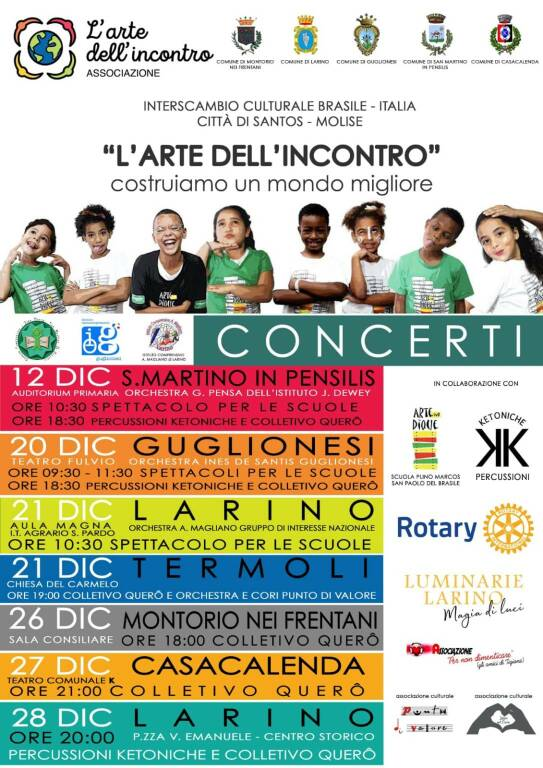 concerti bambini brasile