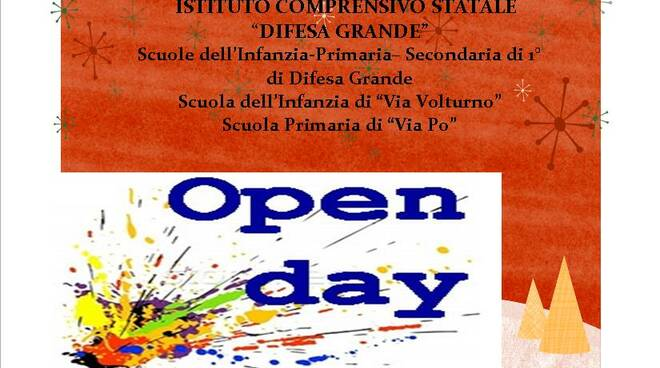 open day difesa grande