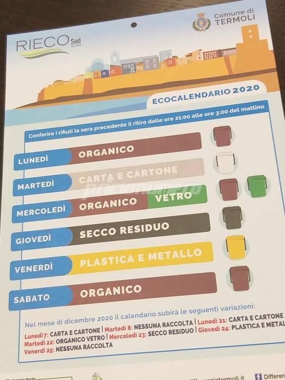 Eco calendario rieco