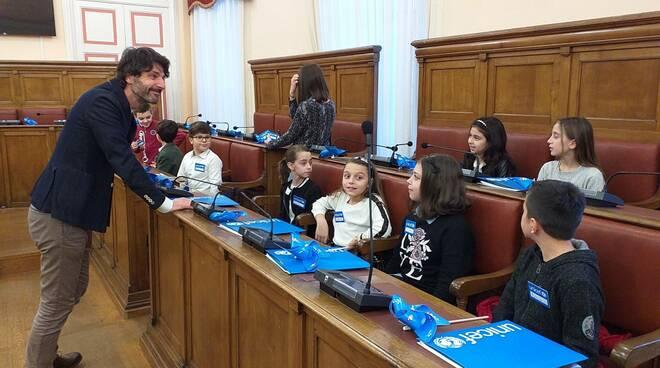 consiglio comunale dei bambini Campobasso Gravina