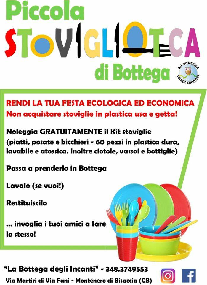 locandina stoviglioteca