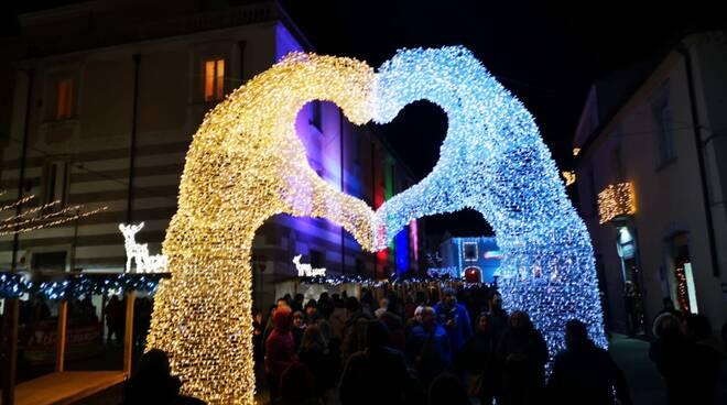 Luminarie Larino - Foto di Nicola Cappella