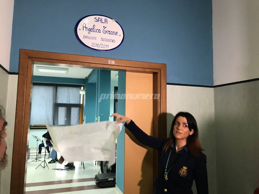 Sala dedicata ad Angelica Tirone