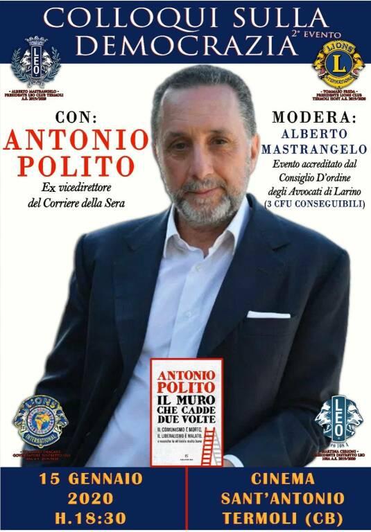 Antonio polito Leo Club
