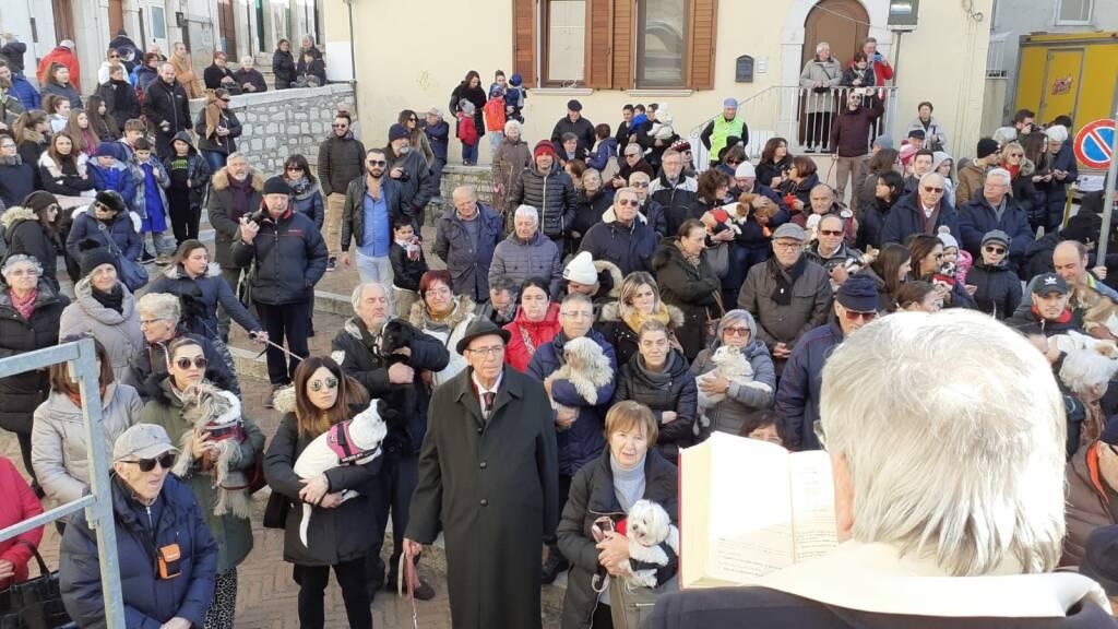 Campobasso festeggia Sant'Antonio abate