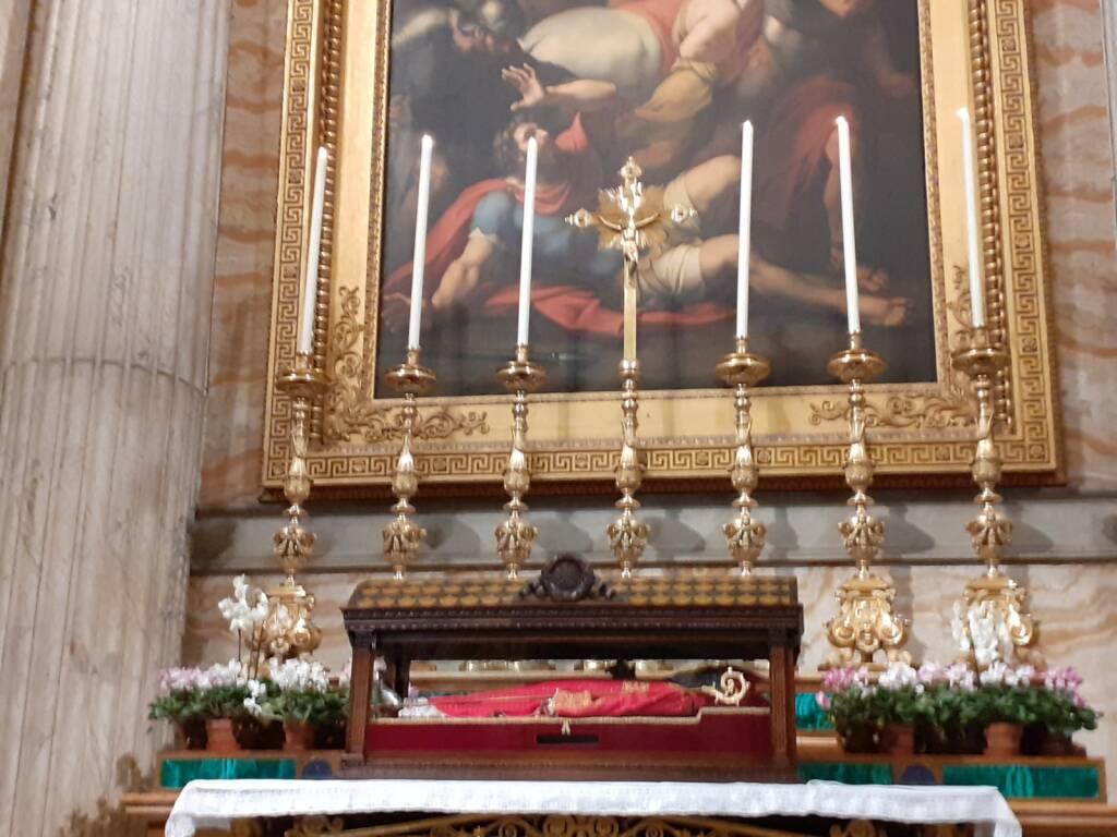 cavalieri san timoteo reliquie Roma