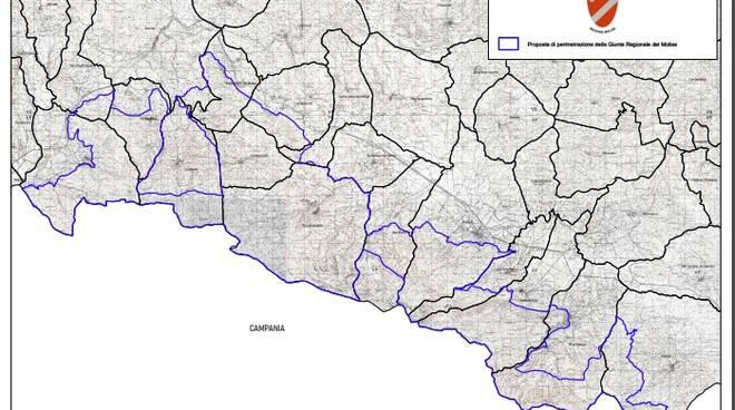 parco del Matese perimetrazione Regione Molise