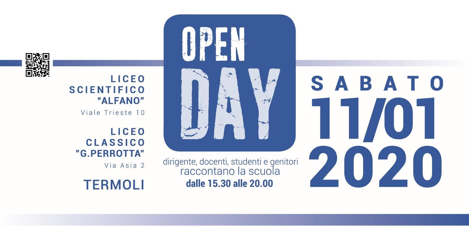 open day alfano