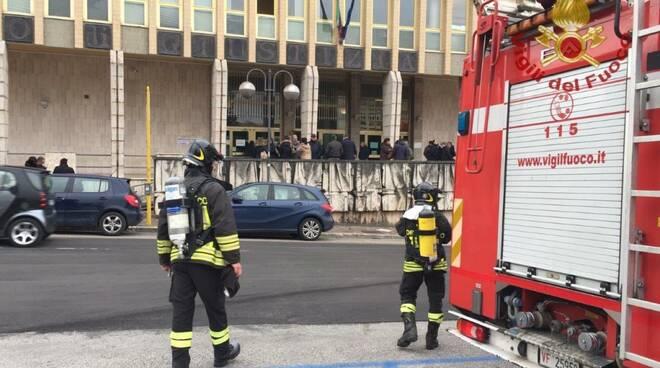 vigili del fuoco tribunale di Isernia