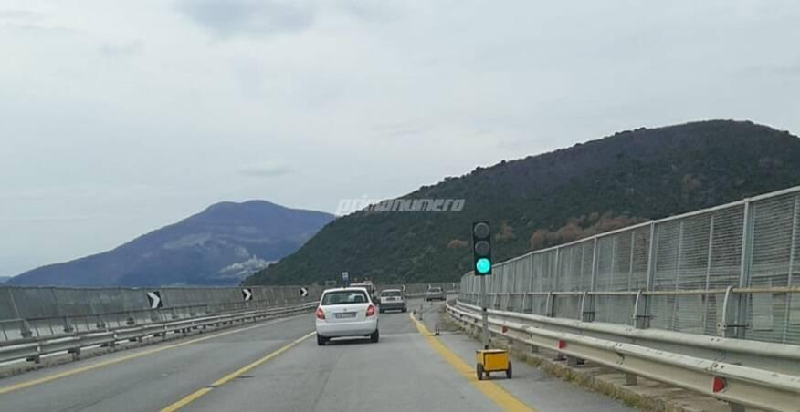 semafori viadotto Liscione Bifernina