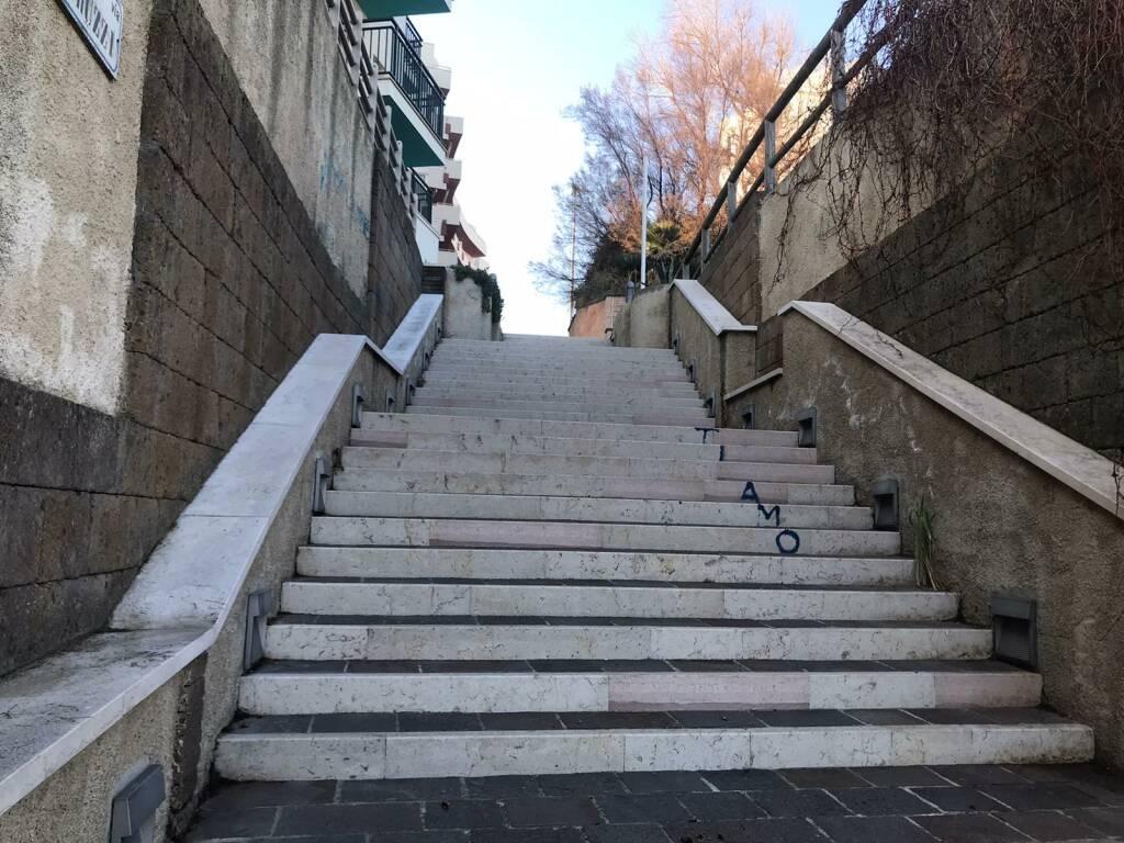 scalinata lungomare
