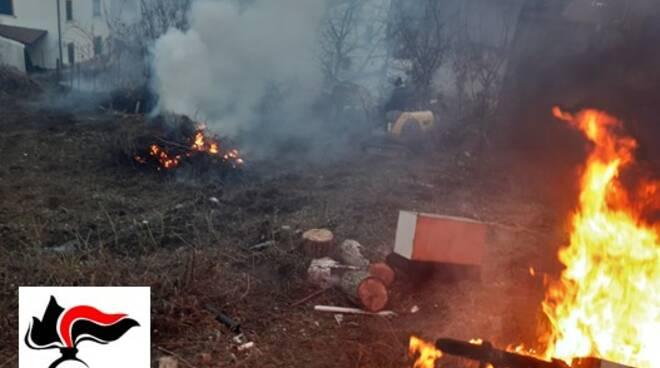 rifiuti bruciati campolieto