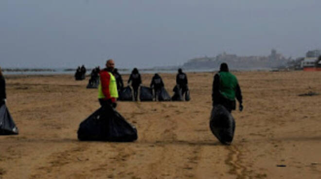 pulizia spiaggia termoli