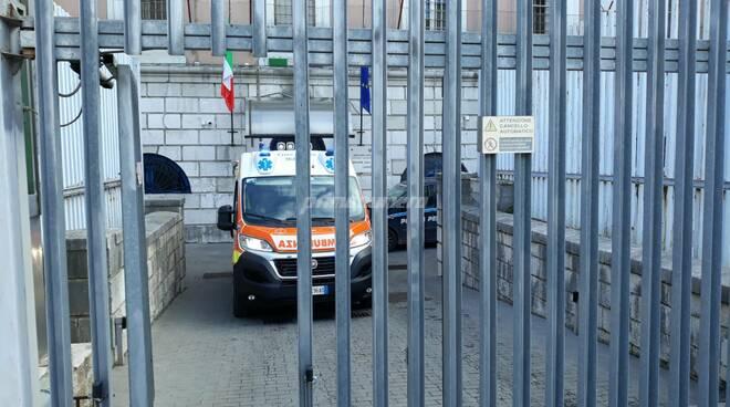 Carcere Campobasso ambulanza