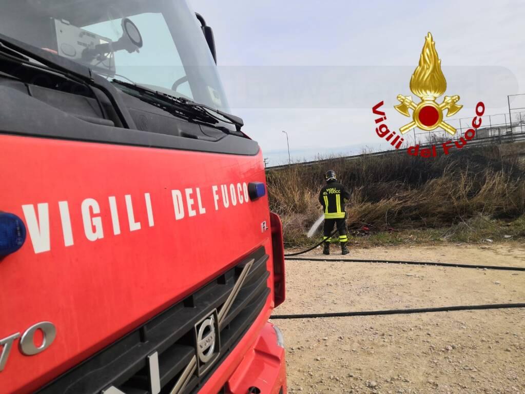 vigili del fuoco bivio guglionesi