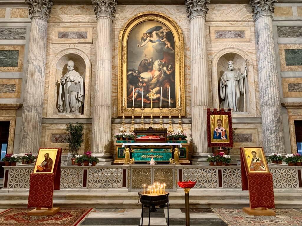 reliquie san timoteo Roma