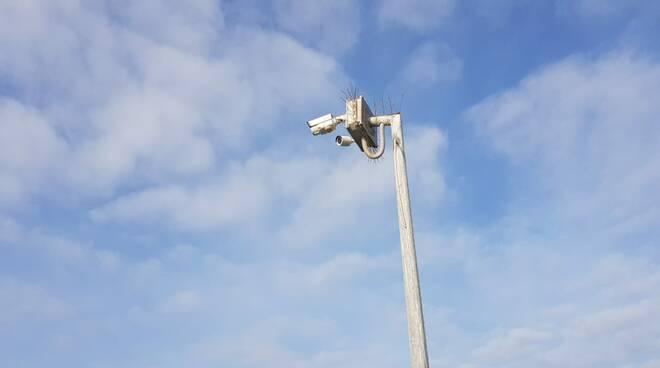 telecamera porticciolo