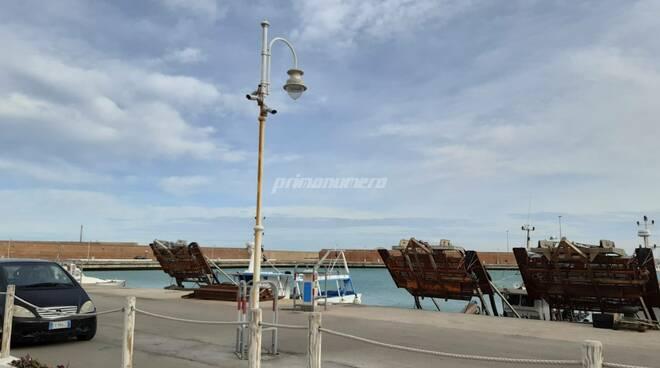 Telecamere porto