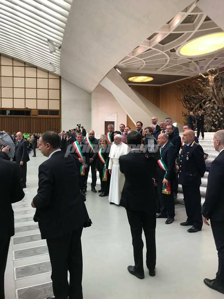 Udienza da Papa Bergoglio