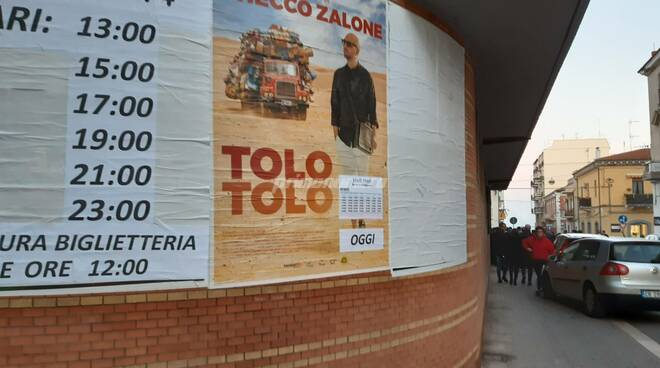 Zalone cinema Oddo