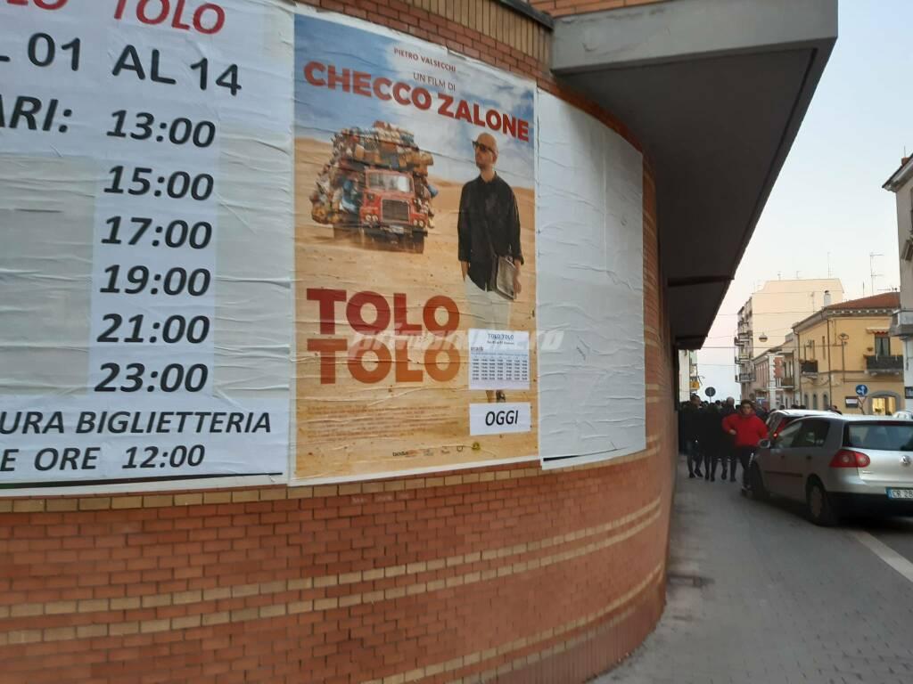 Zalone cinema Oddo